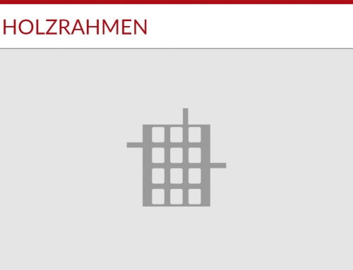 Holzrahmen Projekt 2